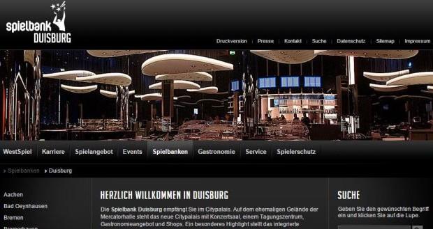 westspiel casino berlin permanenzen