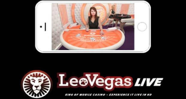 Live - Roulette bei Leovegas