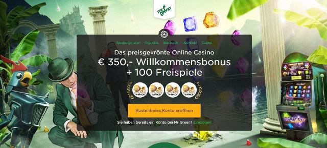 Mr Green Casino Voucher Code