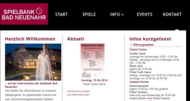 Casino Bad Neuenahr Permanenzen