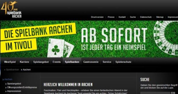 Spielbank in Aachen