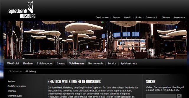 Spielbank Duisburg Permanenzen